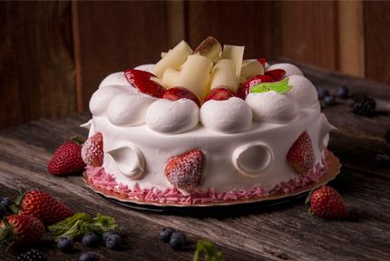 Deluxe Strawberry Cake  Degrees