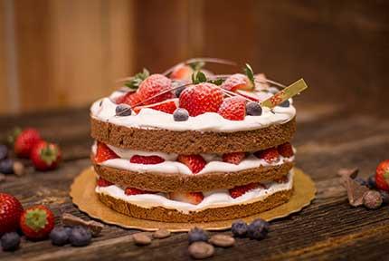 Royal Taro Brulee Cake